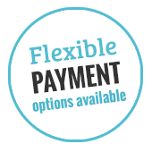 Flexible Payment Options Available