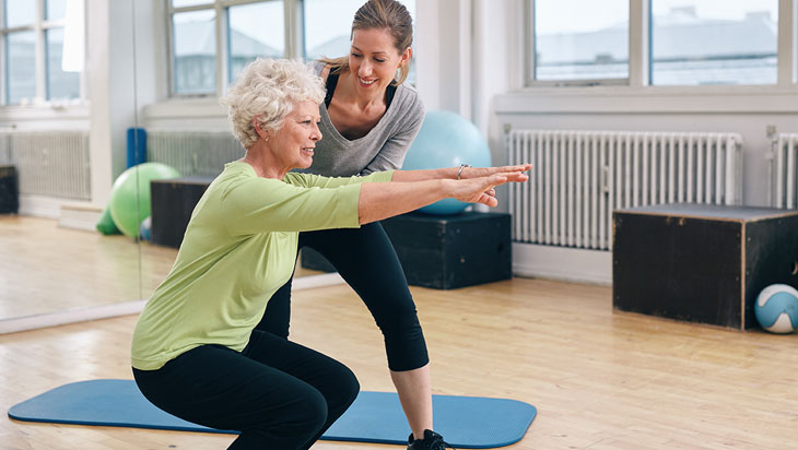 Level 3 Exercise Programmes for the Elderly