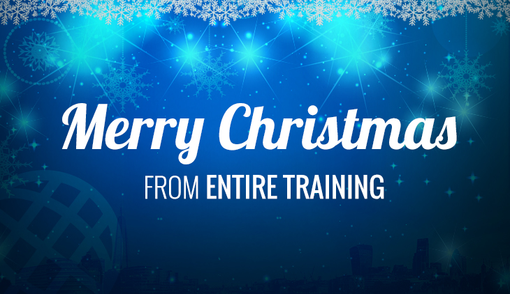 Merry Christmas from Entire Training